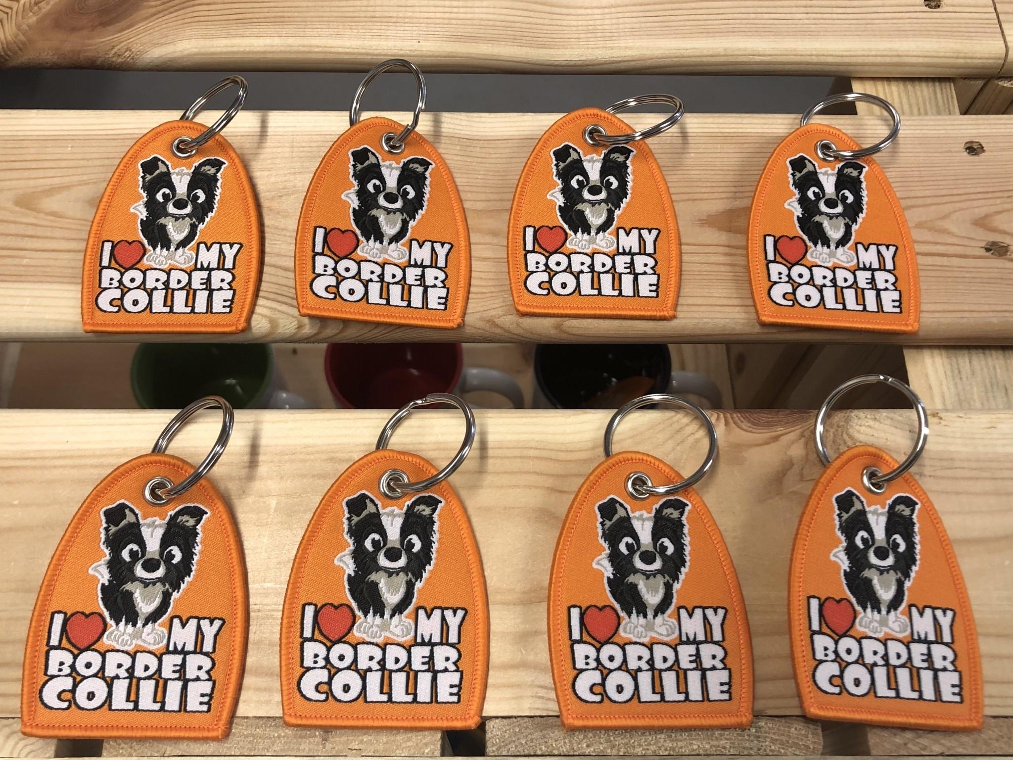 Doggygraphics DG sleutelhanger BC Black-white