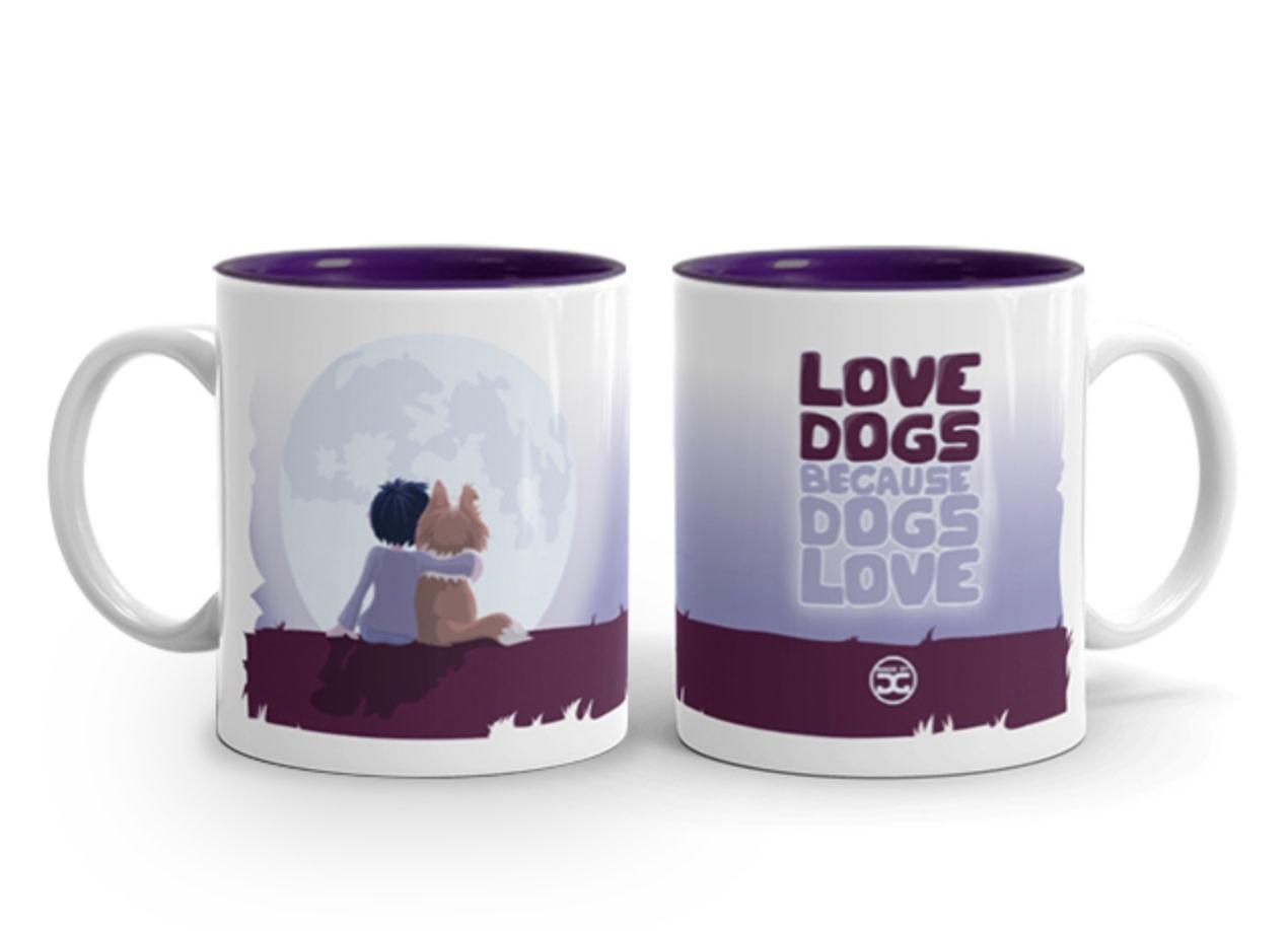 Doggygraphics DG mok love dogs