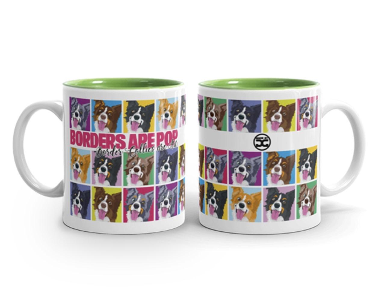 Doggygraphics DG mok Borders are pop