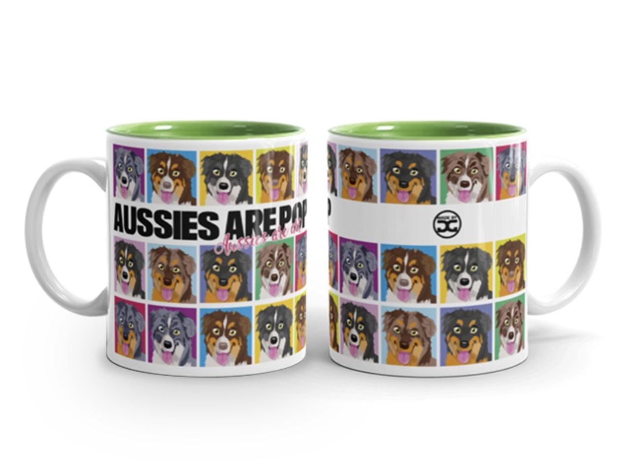 Doggygraphics DG mok Aussies are pop