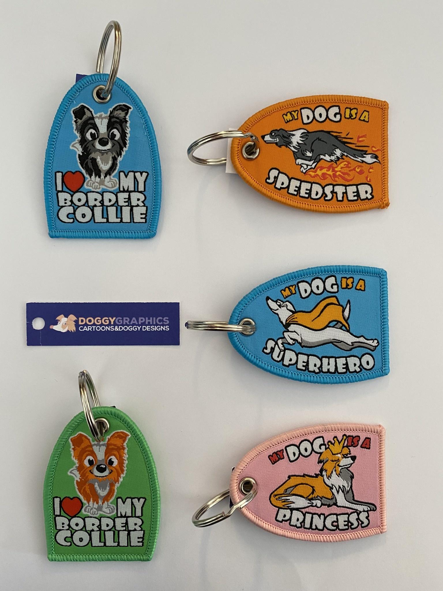 Doggygraphics DG sleutelhanger superhero