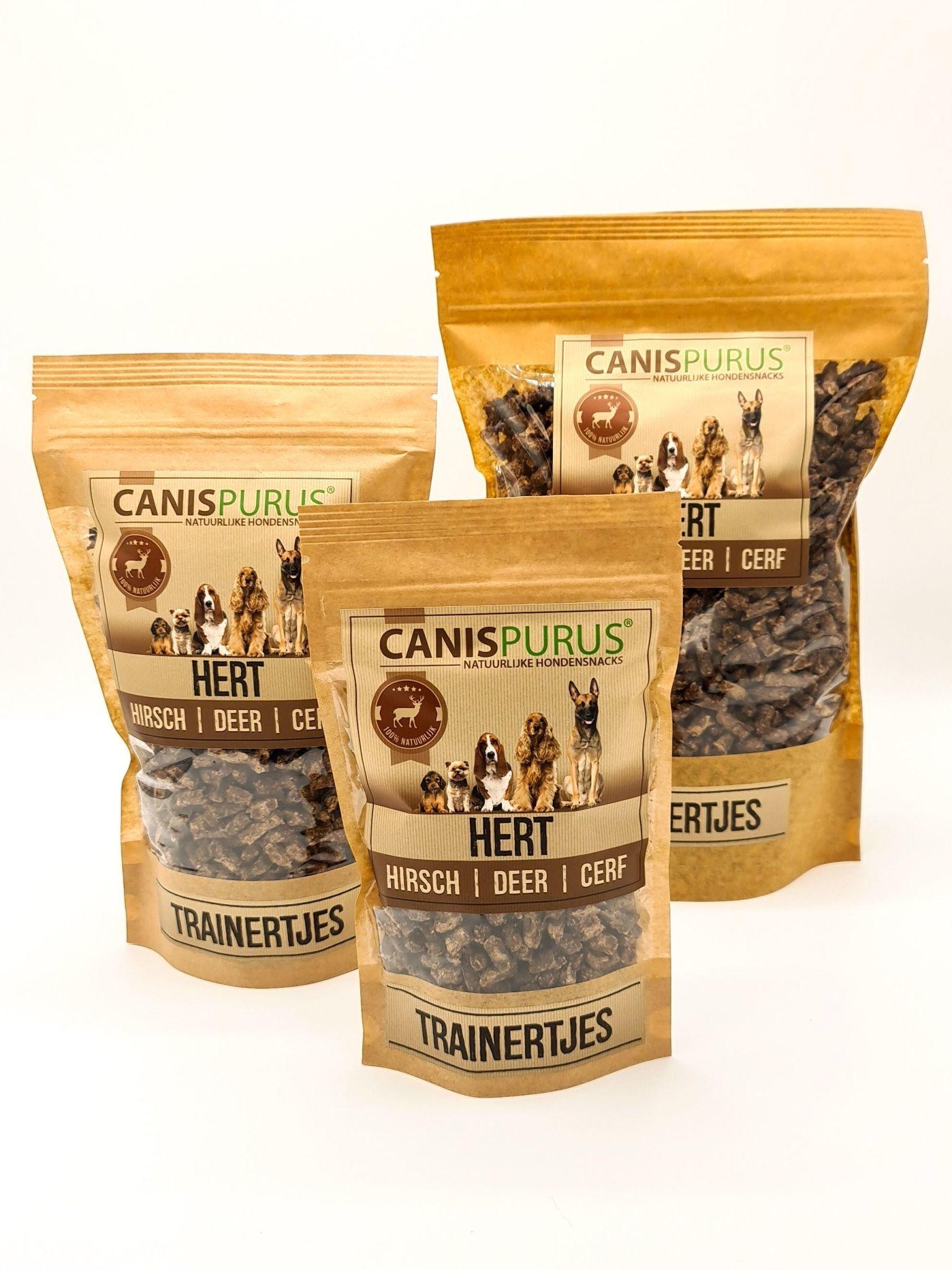 Canis Purus Canis Purus trainertjes hert 500 gr