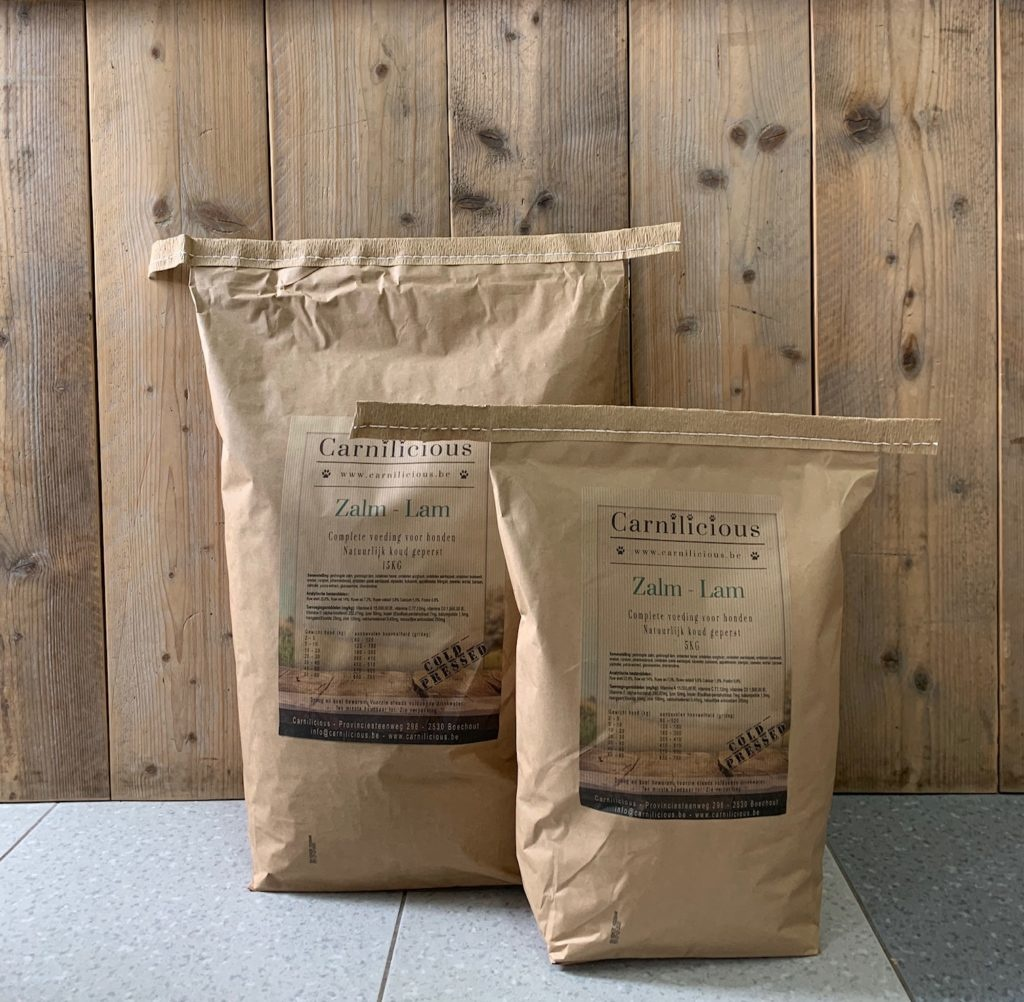 Carnilicious zalm - lam 15 kg