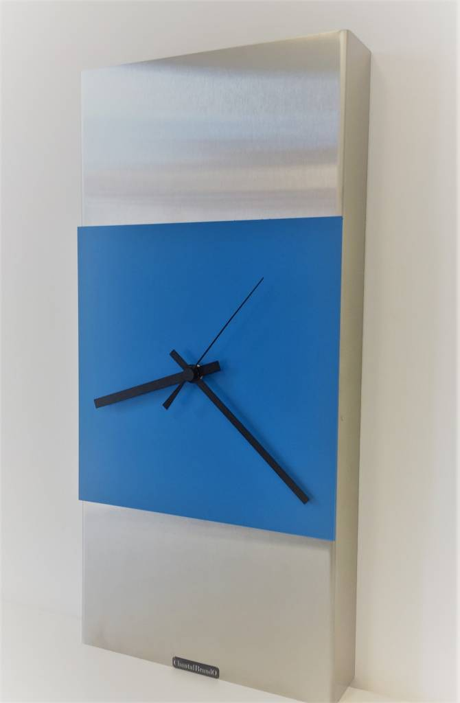 ChantalBrandO Wandklok ExtraVaganzA Blue