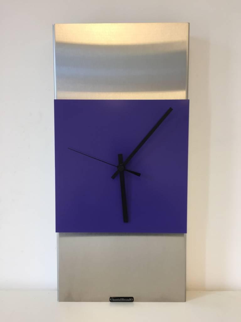 ChantalBrandO Wandklok ExtraVerganzA Purple