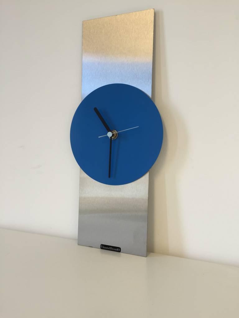 ChantalBrandO Wandklok Blue Haze Modern Design