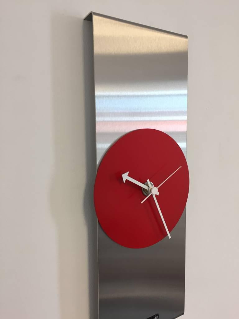 ChantalBrandO Wandklok Red Circle