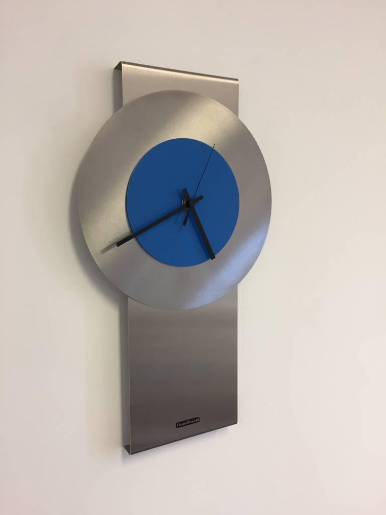 ChantalBrandO Wandklok Pendulum Blue