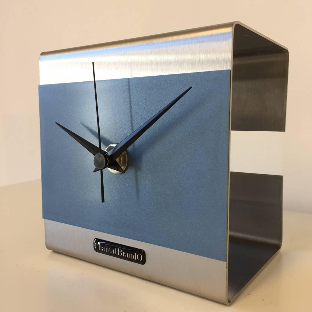 ChantalBrandO Tafelklok The Cube Ice Blue