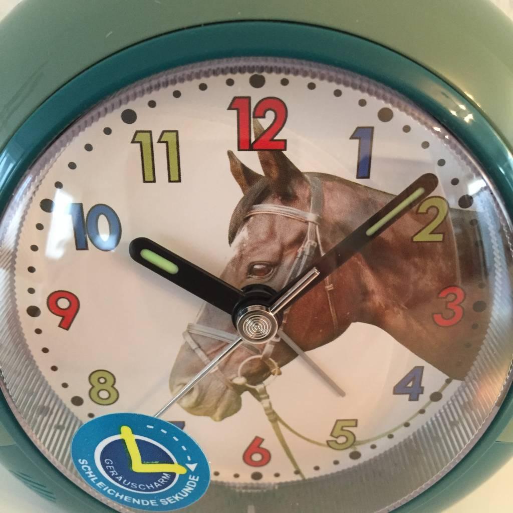 Atlanta Kinderwekker met paarden motief