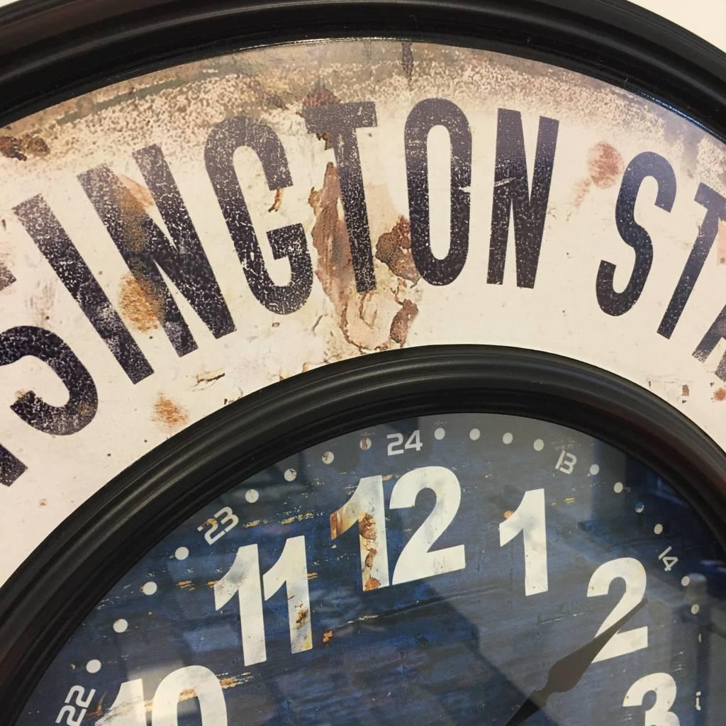 NiceTime Wandklok Kensington Station 1878