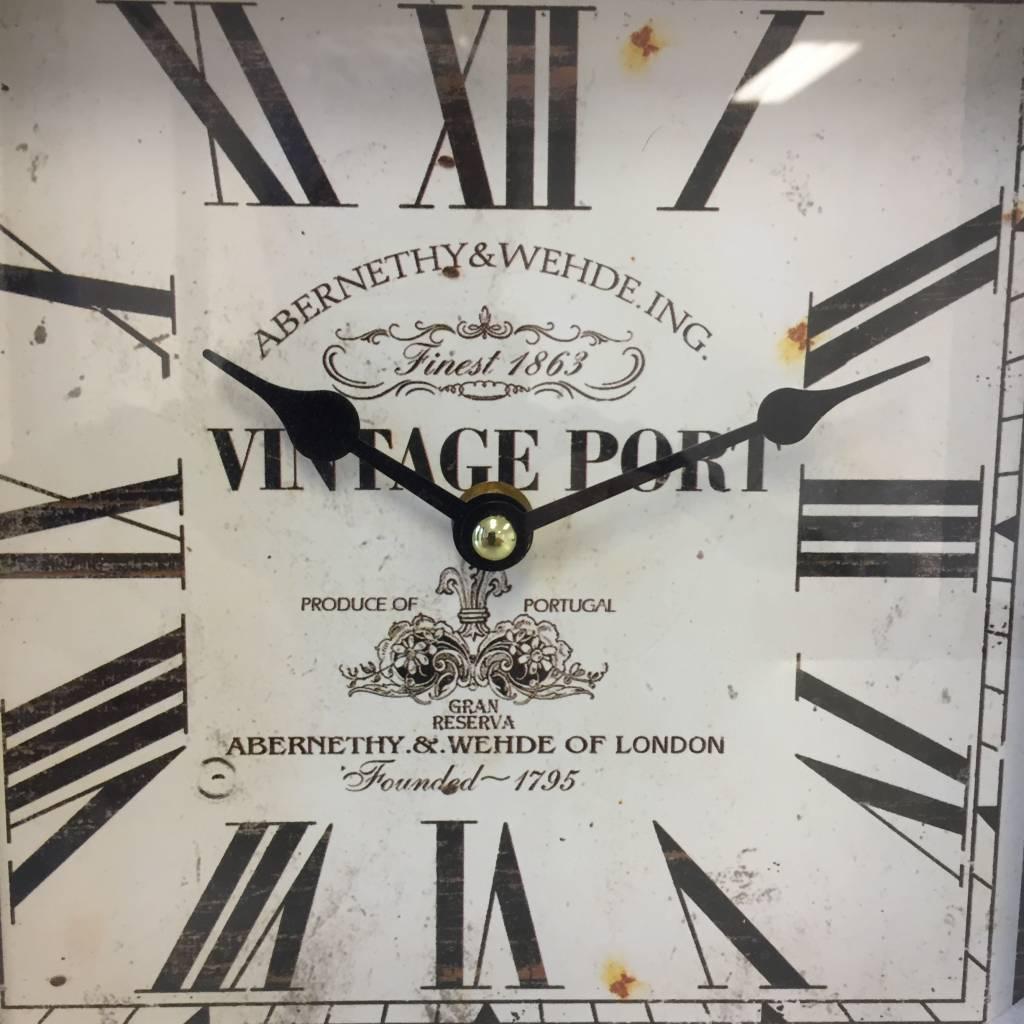 NiceTime Tafelklok Vintage PORT LONDON