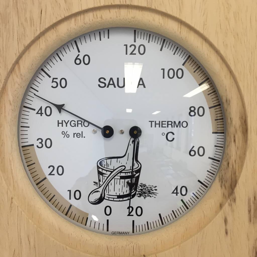NiceTime Sauna combi meter massief houten frame