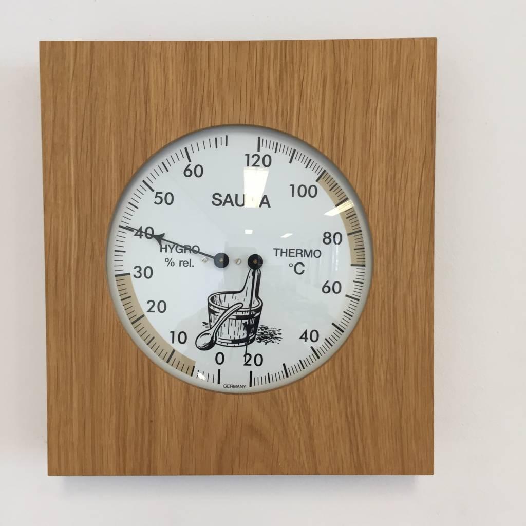 NiceTime Sauna Thermo- Hygrometer, 180 x 200mm