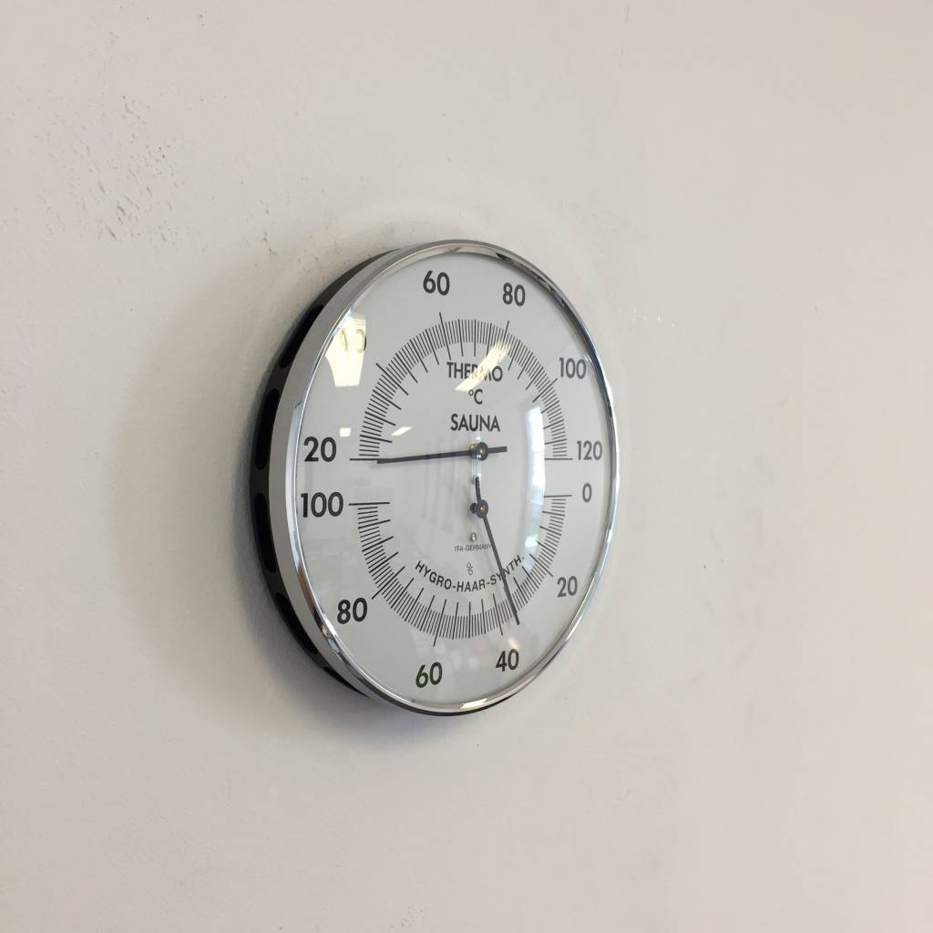 NiceTime Sauna Thermo-/Hygrometer, Ø 132mm