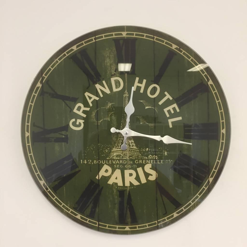NiceTime Wandklok Grand Hotel Paris