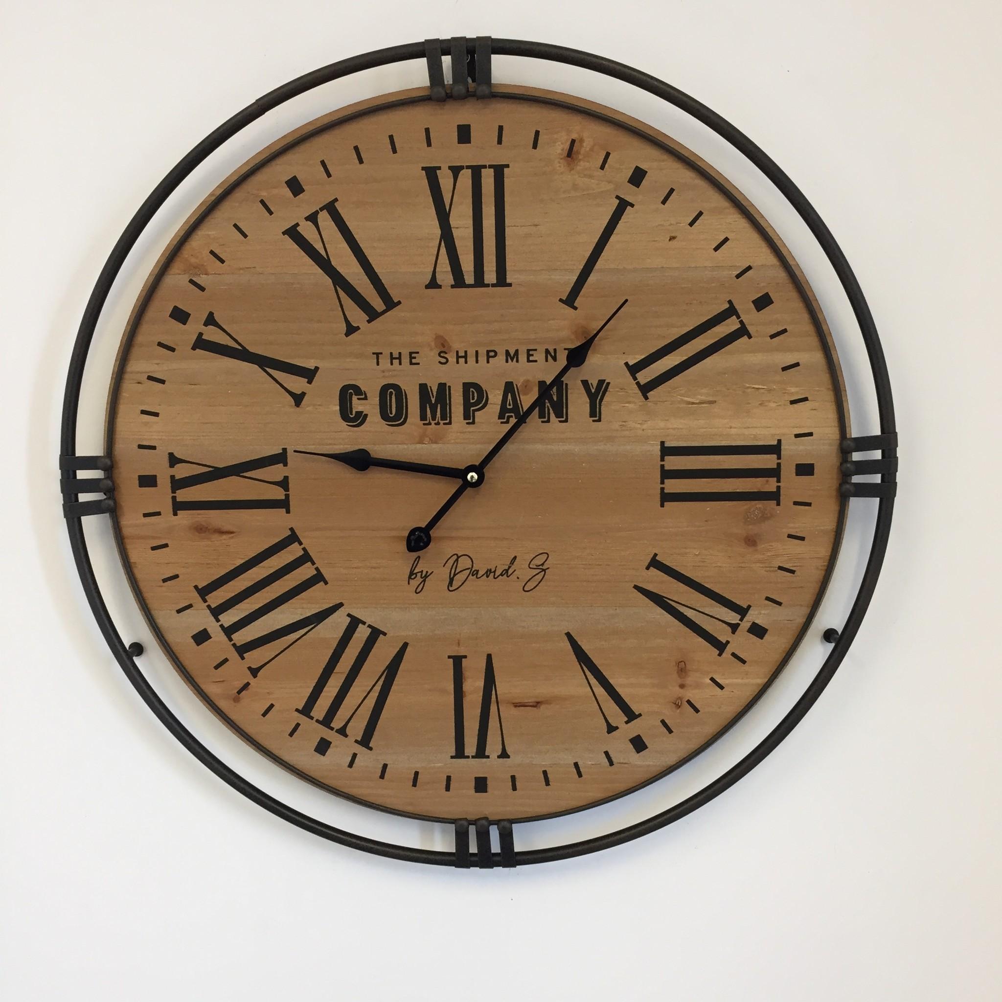 NiceTime Wandklok COMPANY Industrial Design