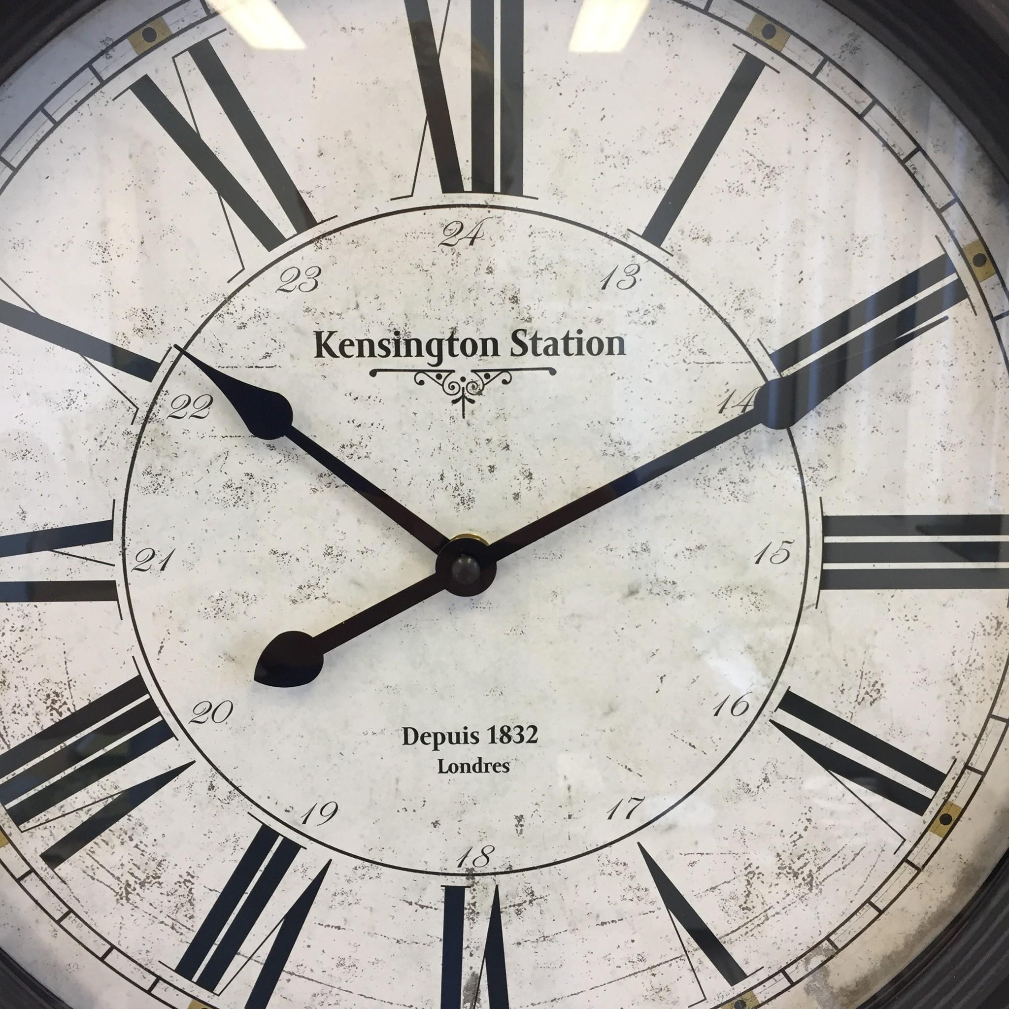 NiceTime Wandklok Kensington 1832 Vintage Industrieel