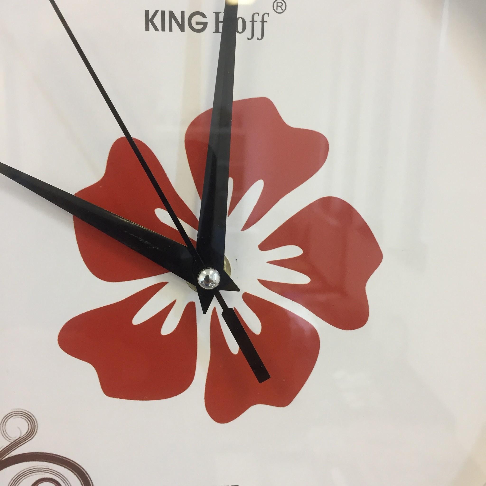 NiceTime Wandklok Flower Power