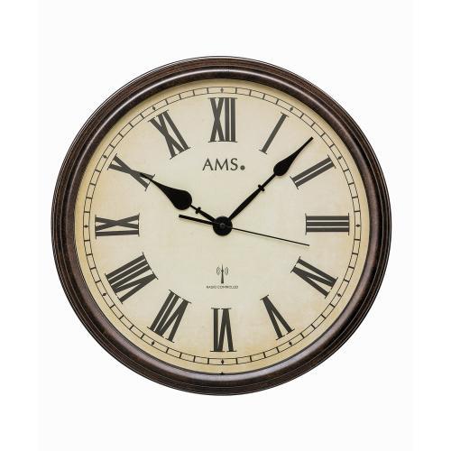 AMS Wandklok Early Days modern vintage design