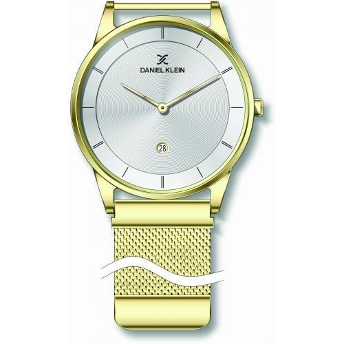 Heren horloge Silver & Gold