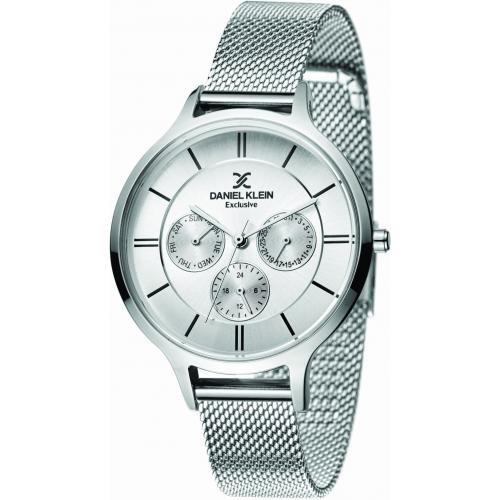 Daniel Klein Dames Dames horloge SpeedLine Silver