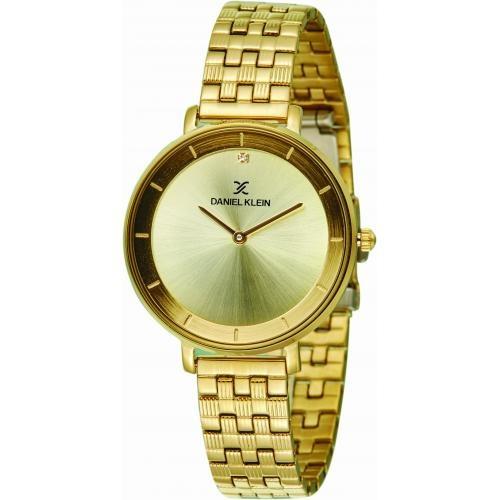 Daniel Klein Dames Dames horloge Moon Walker GOLD