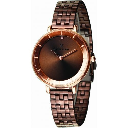 Daniel Klein Dames Dames horloge Moon Walker Copper