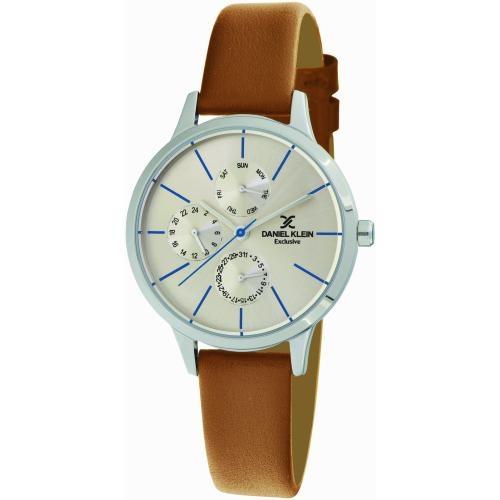 Daniel Klein Dames Dames horloge BERLINA SILVER & BLUE