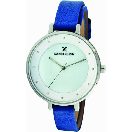 Daniel Klein Dames Dames horloge Silver & Blue