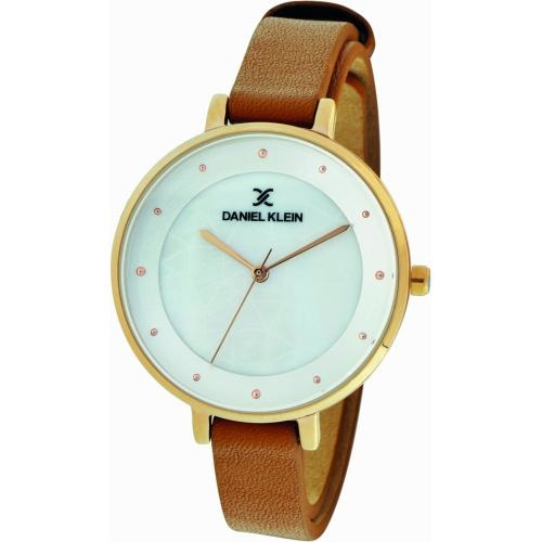Daniel Klein Dames Dames horloge Golden Brown