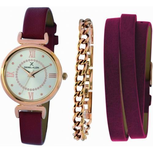 Damens horloge PURPLE