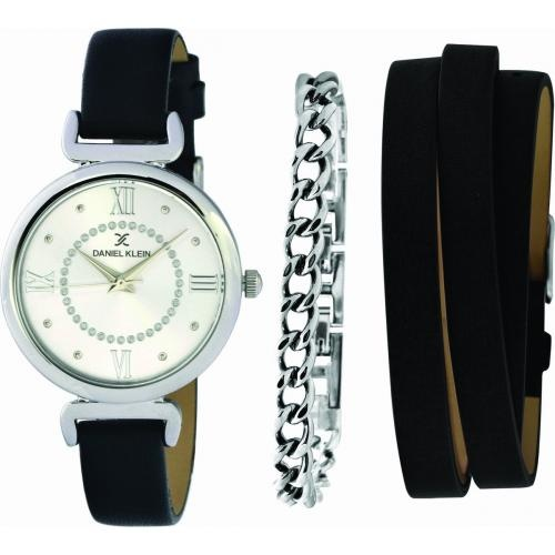 Daniel Klein Dames Dames horloge BLACK