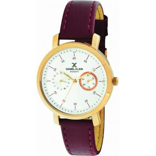 Daniel Klein Dames Dames horloge Rive Gauge Purple