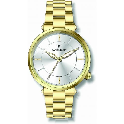 Daniel Klein Dames Dames horloge GOLD Fashion