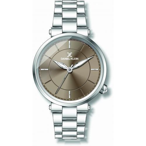 Daniel Klein Dames Dames horloge Silver Fashion