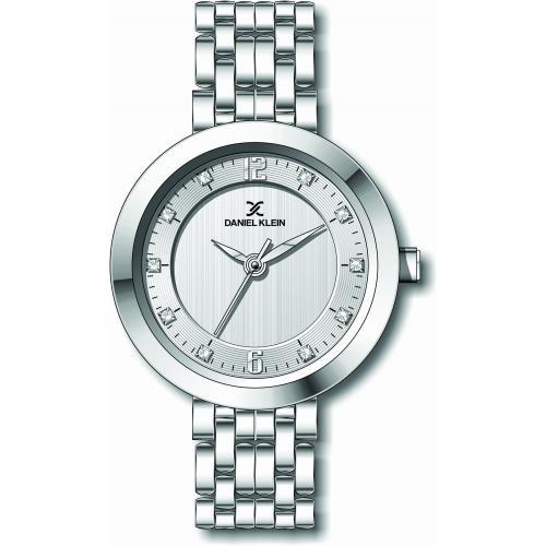 Daniel Klein Dames Dames horloge Bologna Silver