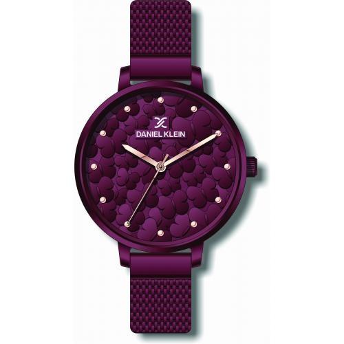 Daniel Klein Dames Dames horloge Papillon Purple