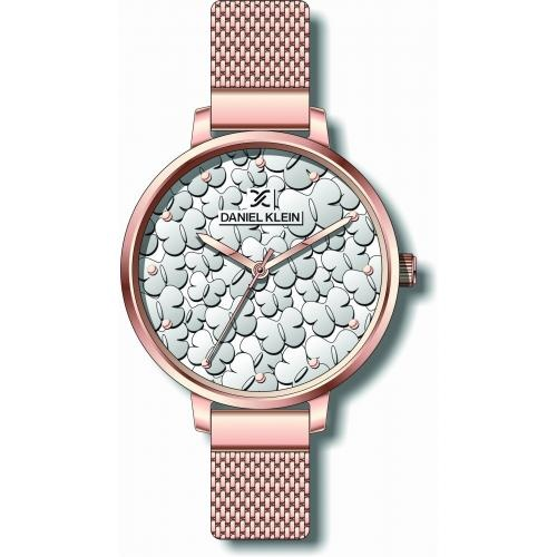 Daniel Klein Dames Dames horloge Papillon Roze