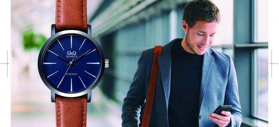 Q&Q  Design Heren horloges