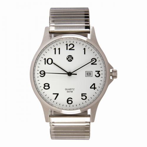 Brussels Heren Horloge TESLA Silver