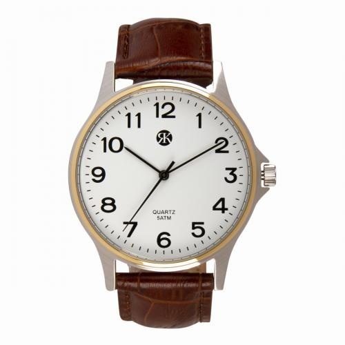 Brussels Heren Horloge TESLA  Silver & Gold