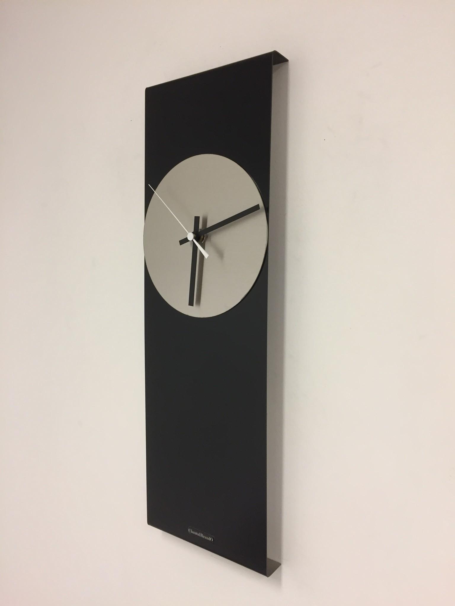 ChantalBrandO Wandklok LaBrand Export Design Black & White Pointer