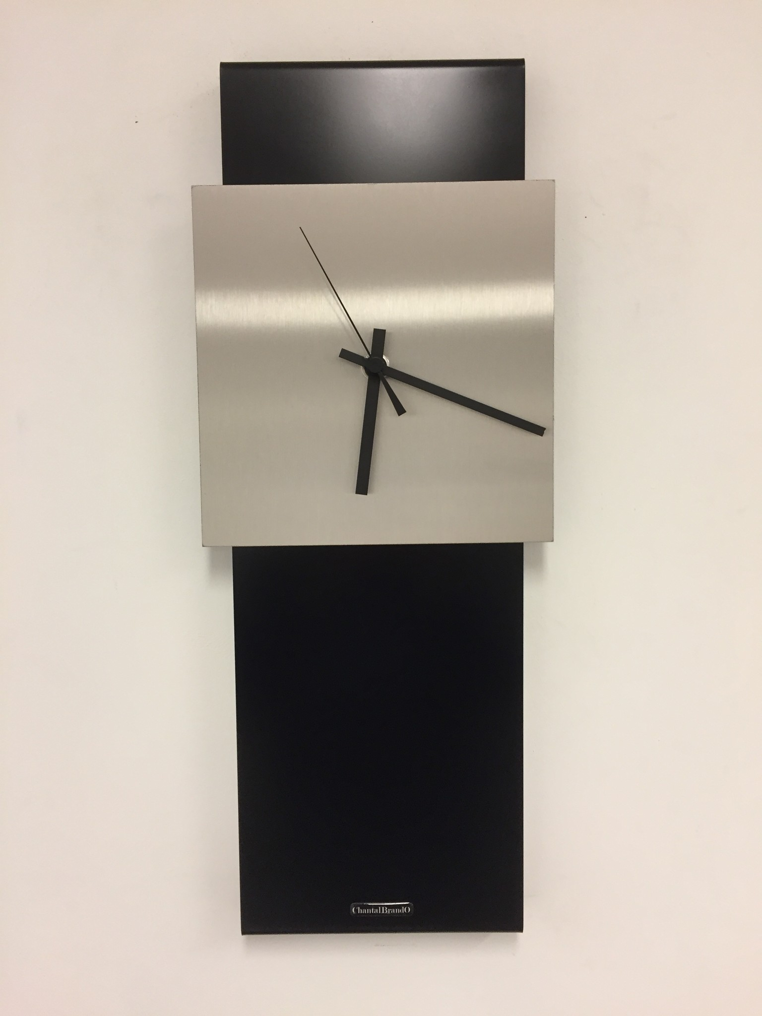 ChantalBrandO Wandklok LaBrand Export Design Black Modern Design