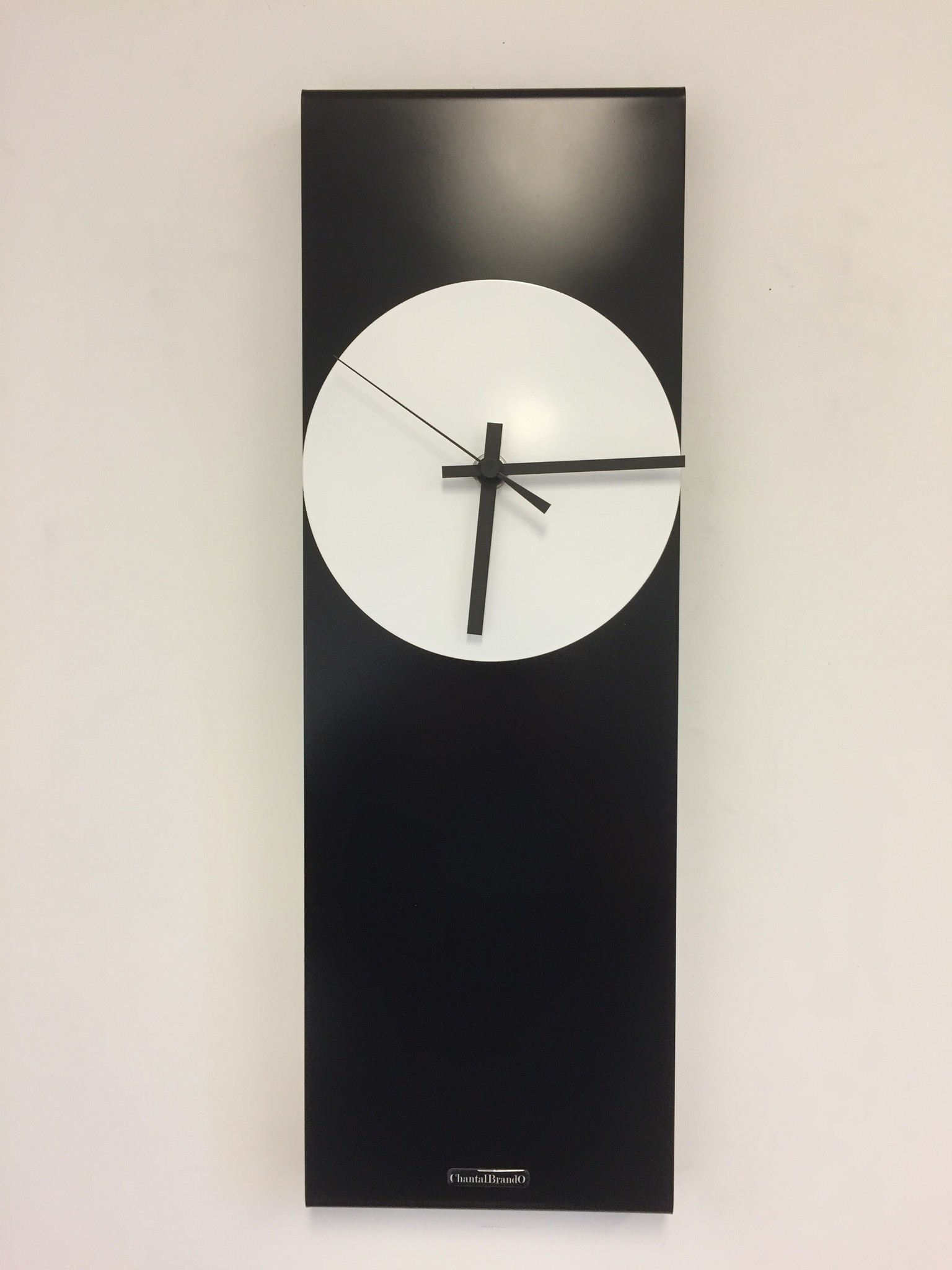 ChantalBrandO Wandklok LaBrand Export Line Black & White Modern Design