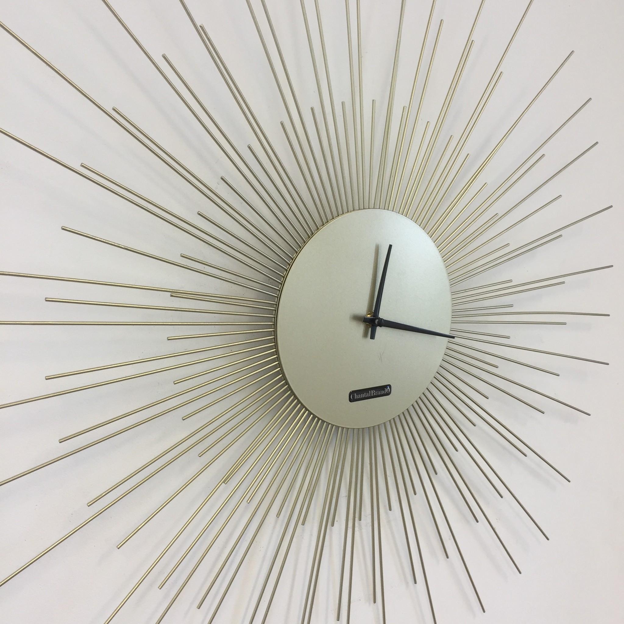 ChantalBrandO Wandklok Le Roi Soleil Modern Design
