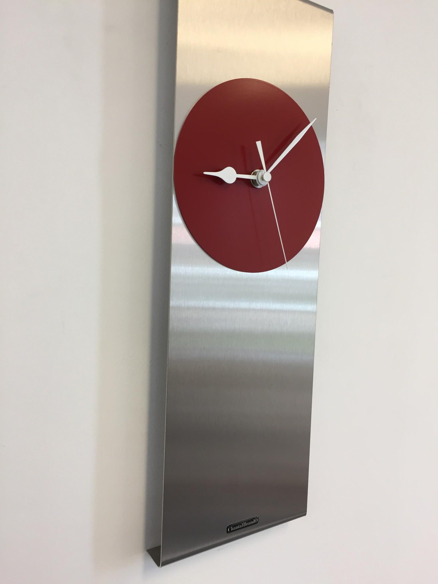 ChantalBrandO Wandklok Cassiopee RED Modern Dutch Design
