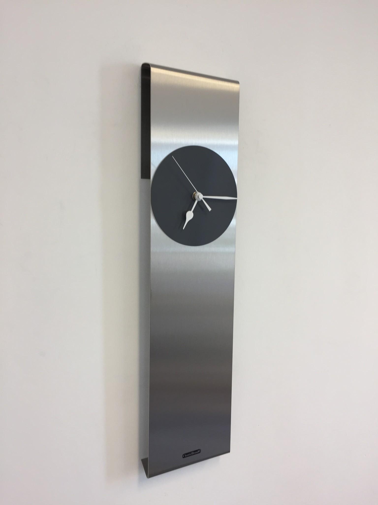 ChantalBrandO Wandklok Sky-Scraper GREY New York Modern Dutch Design