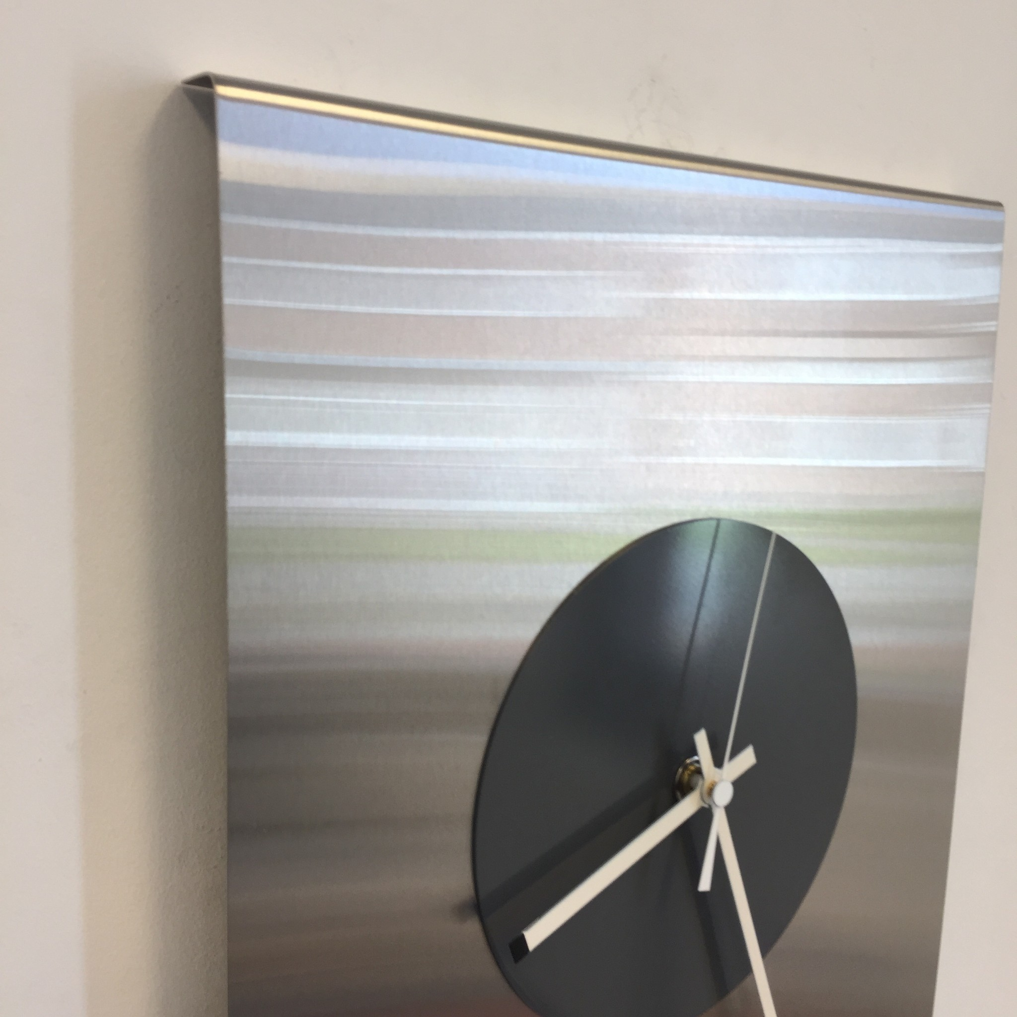 ChantalBrandO Wandklok Time Square New York GREY Modern Dutch Design