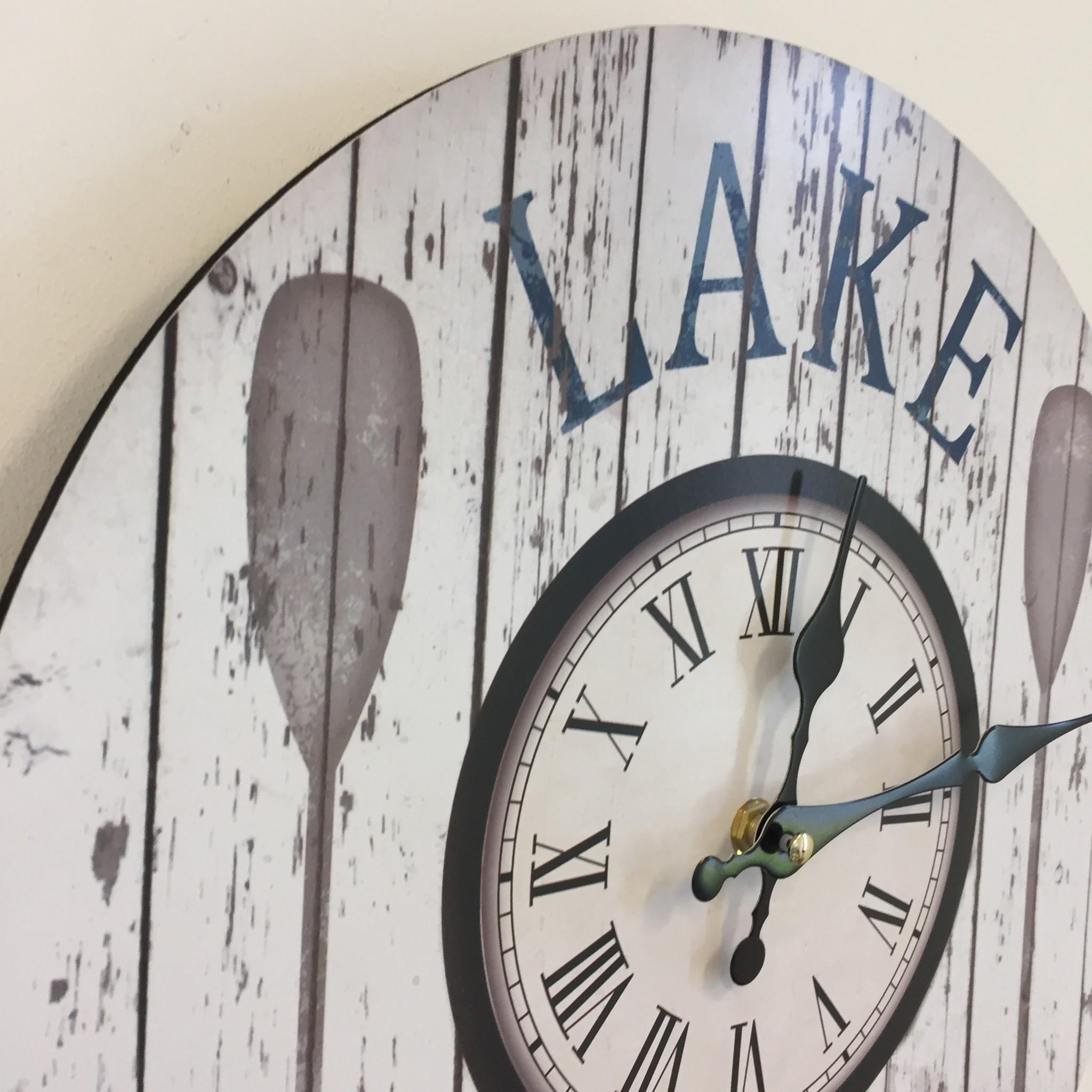 NiceTime Wandklok LAKE modern design